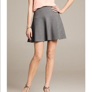 Banana Republic Ponte Fit and Flare Skirt